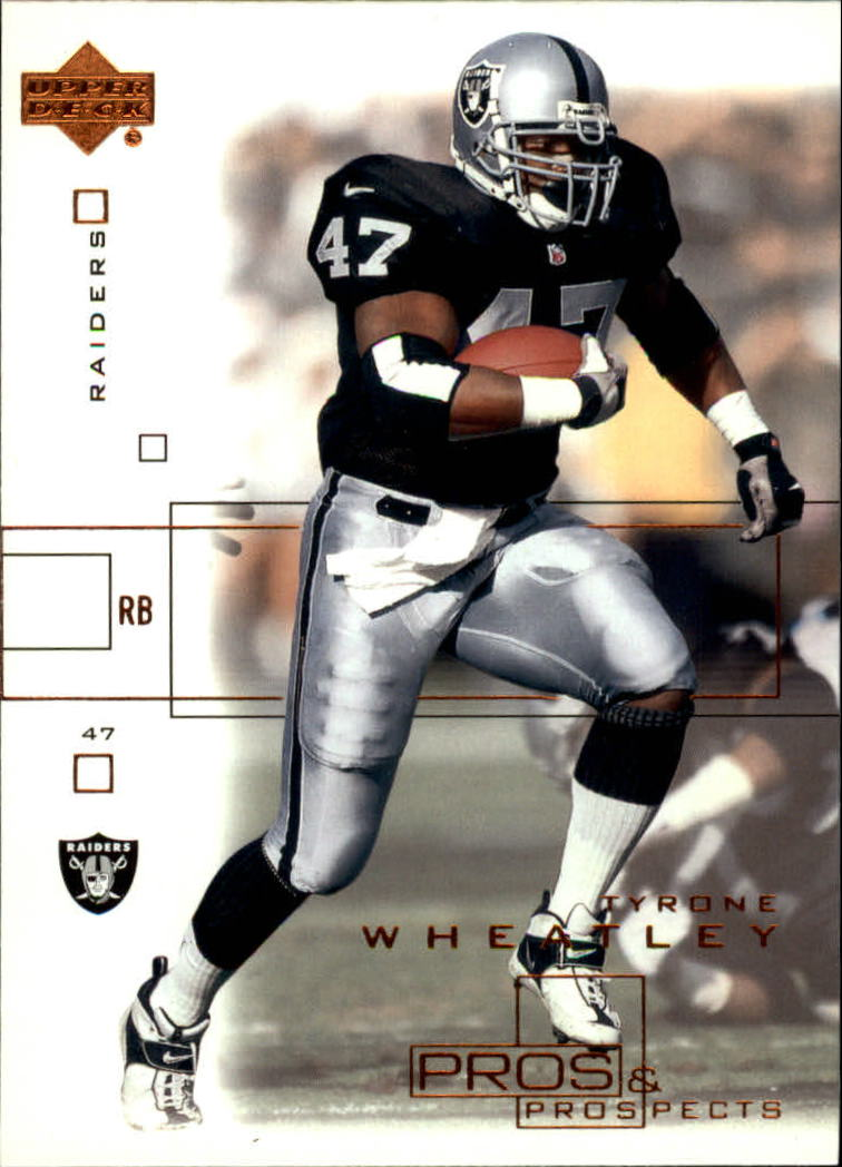 2001 Upper Deck Pros and Prospects #67 Tyrone Wheatley