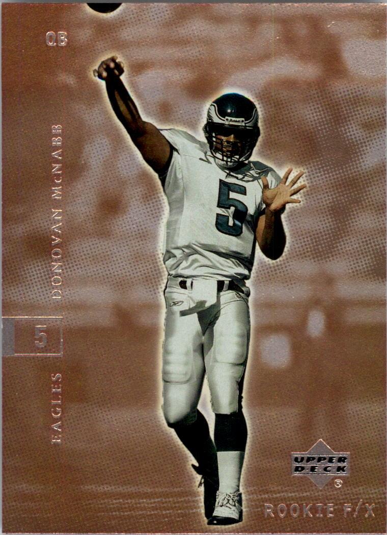 2001 Upper Deck Rookie F/X #68 Donovan McNabb