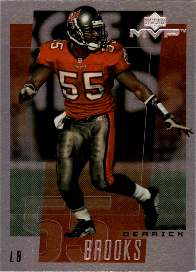 2001 Upper Deck Rookie F/X #146 Derrick Brooks
