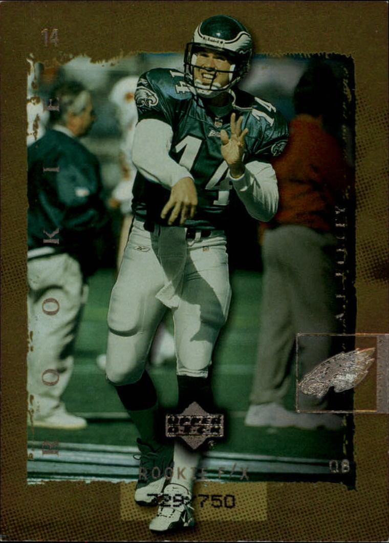 2001 Upper Deck Rookie F/X #226F A.J. Feeley F/X RC