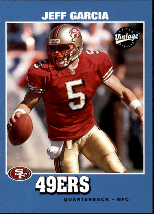 2001 Upper Deck Vintage #150 Jeff Garcia