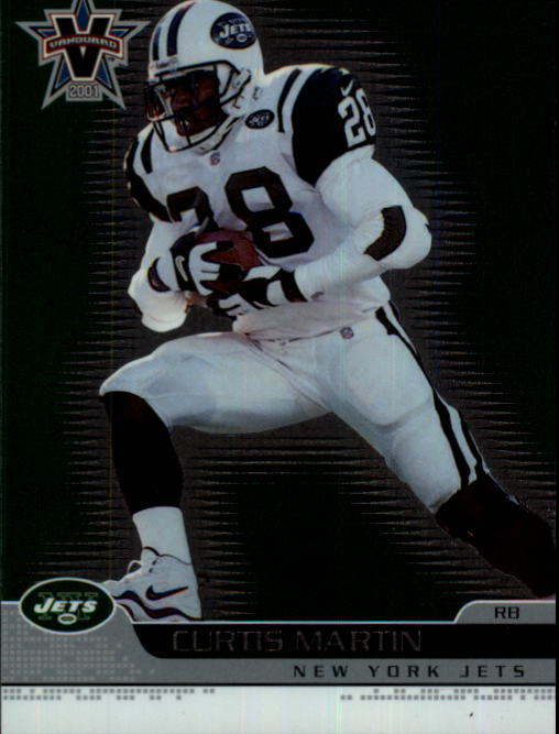 2001 Vanguard #66 Curtis Martin