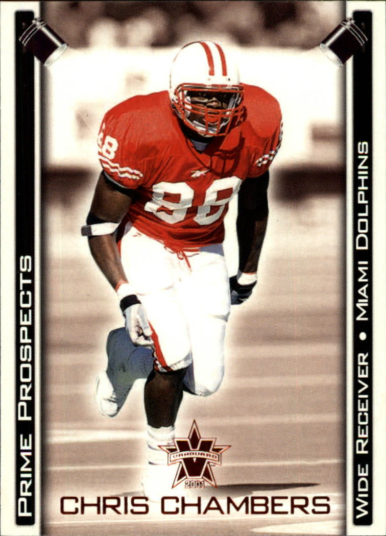 2001 Vanguard Prime Prospects Bronze #15 Chris Chambers