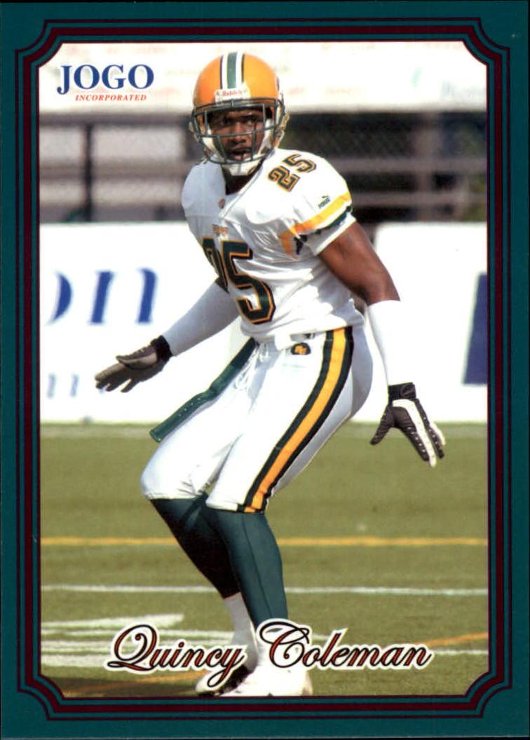 2002 JOGO #156 Quincy Coleman