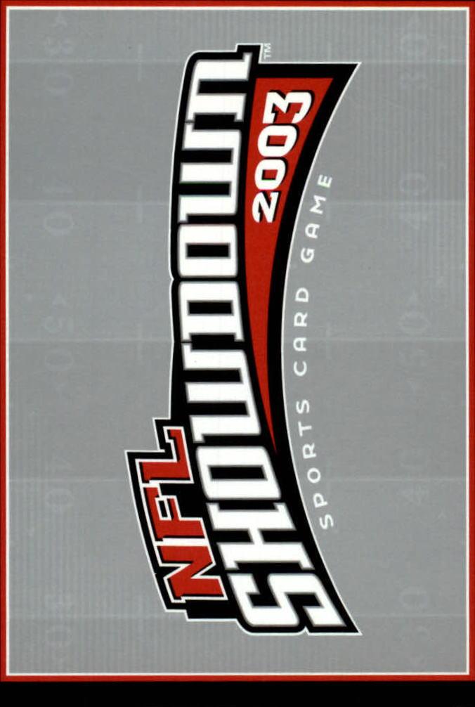 2002 NFL Showdown #147 Tony Gonzalez