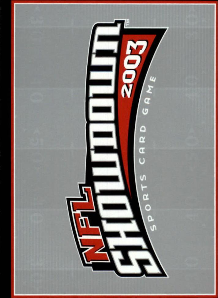 2002 NFL Showdown #201 Deuce McAllister