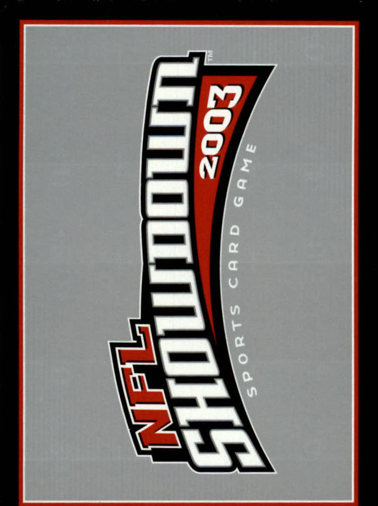 2002 NFL Showdown #249 Donovan McNabb