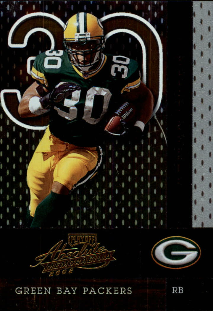 2002 Absolute Memorabilia #2 Ahman Green
