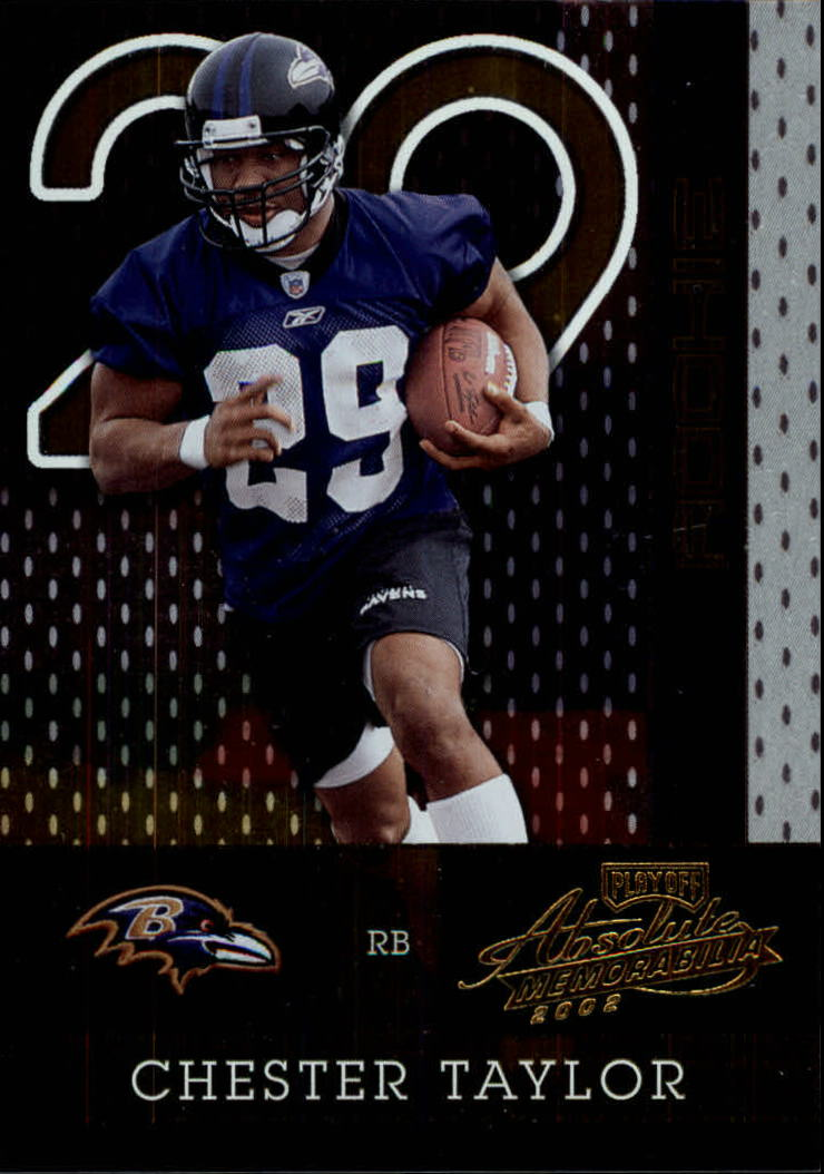 2002 Absolute Memorabilia #168 Chester Taylor RC