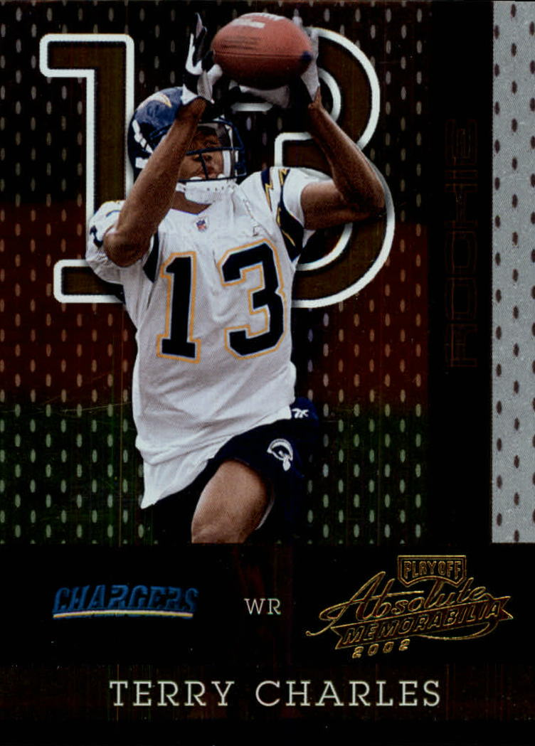 2002 Absolute Memorabilia #173 Terry Charles RC