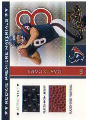 2002 Absolute Memorabilia #204 David Carr RPM RC