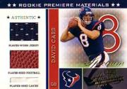 2002 Absolute Memorabilia Spectrum #204 David Carr RPM