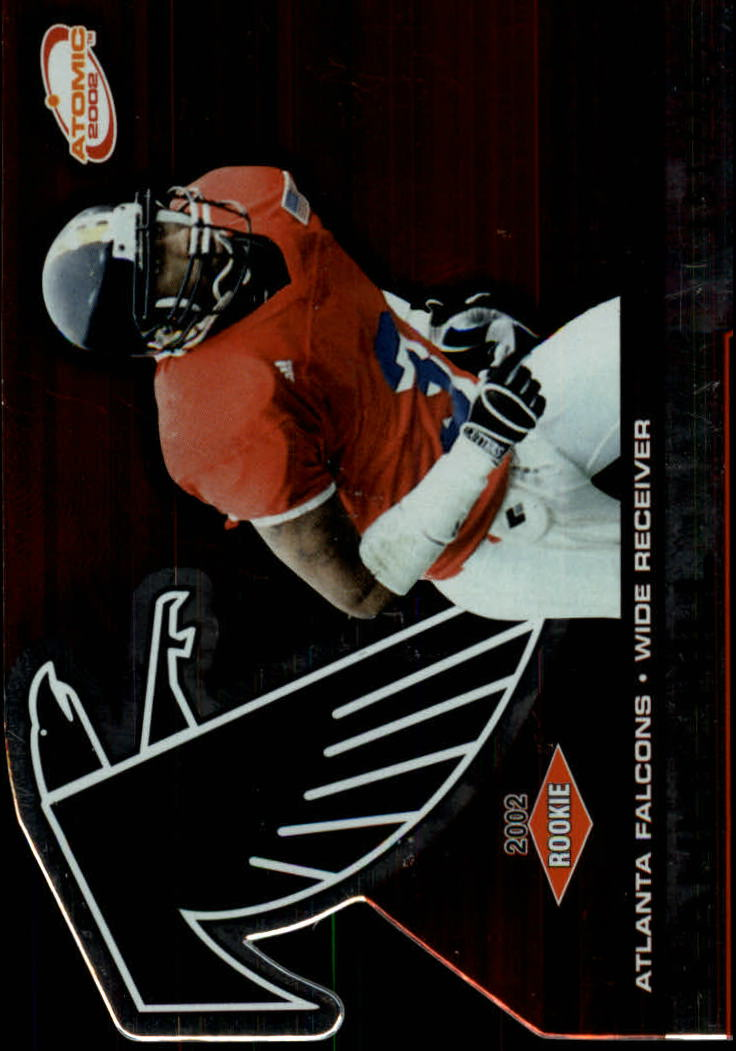 2002 Atomic #128 Kahlil Hill RC