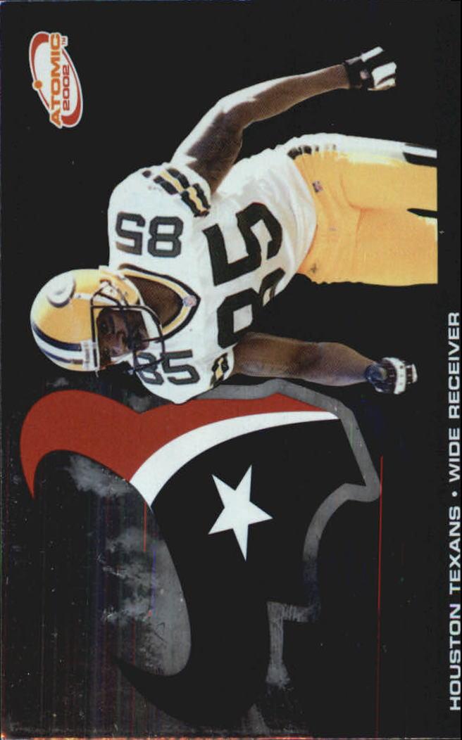 2002 Atomic Non Die Cut #39 Corey Bradford