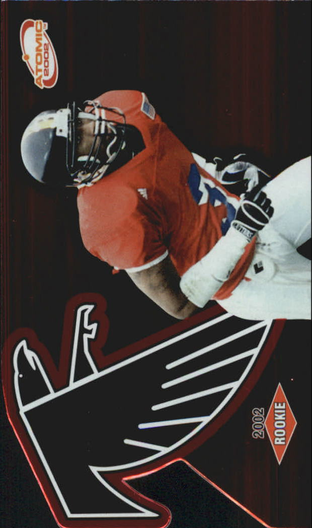 2002 Atomic Red #128 Kahlil Hill