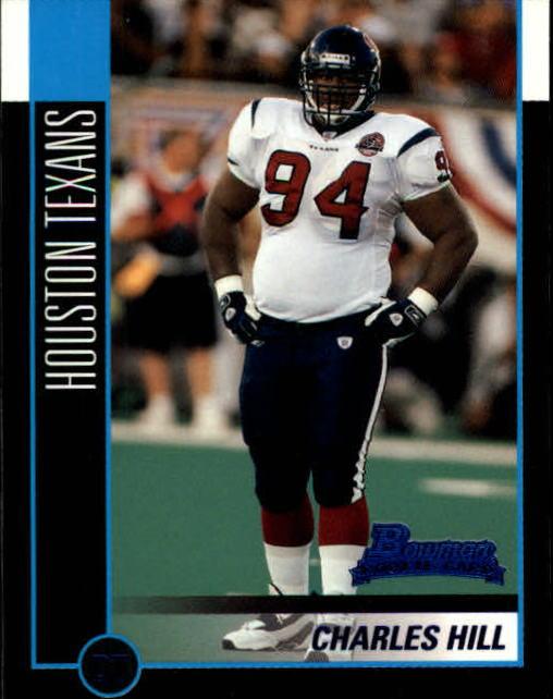 2002 Bowman #245 Charles Hill RC