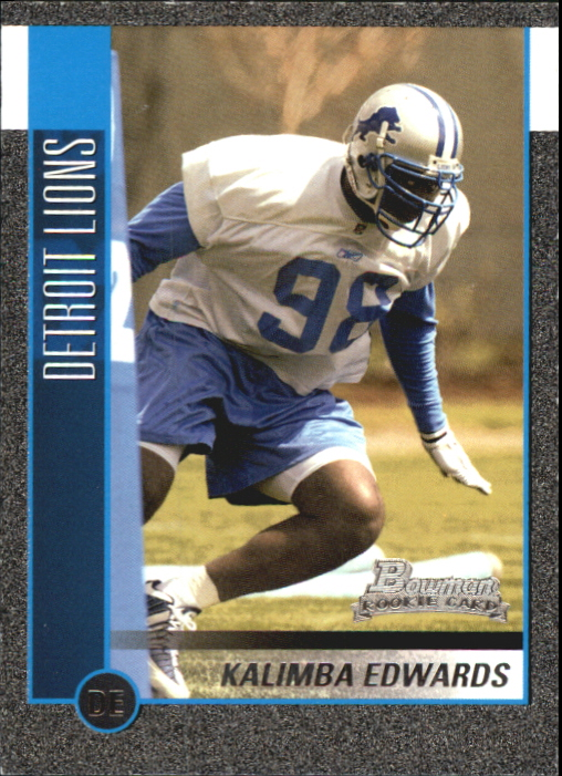 2002 Bowman Silver #129 Kalimba Edwards