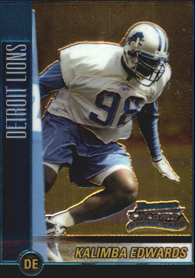 2002 Bowman Chrome #124 Kalimba Edwards RC