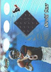 2002 Bowman's Best Blue #91 David Carr JSY
