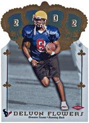 2002 Crown Royale #177 Delvon Flowers RC