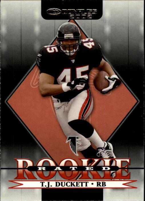 2002 Donruss #217 T.J. Duckett RC