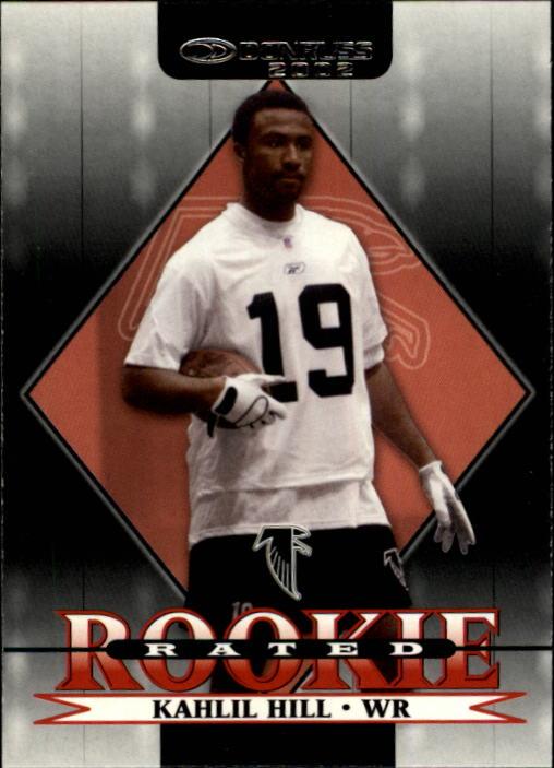 2002 Donruss #253 Kahlil Hill RC
