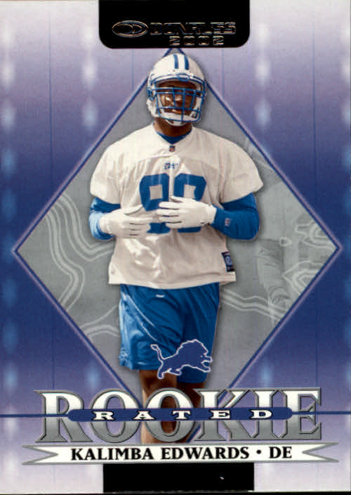 2002 Donruss #269 Kalimba Edwards RC