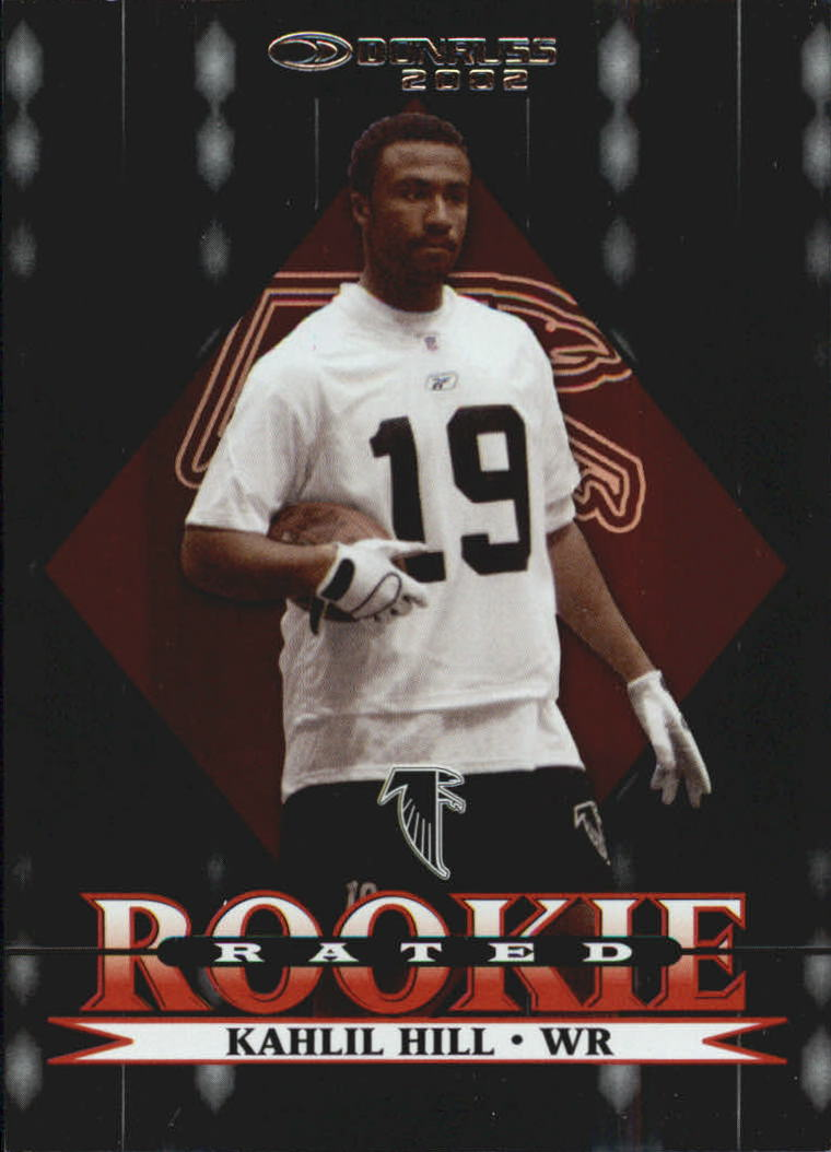 2002 Donruss Stat Line Career #253 Kahlil Hill/146