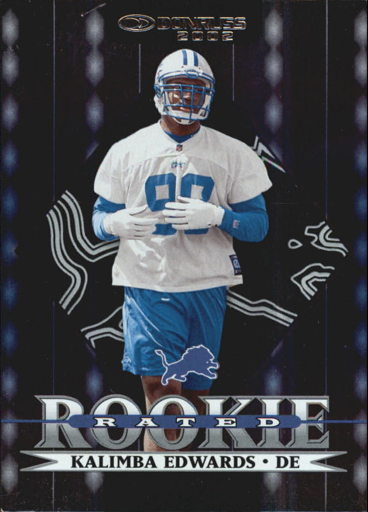 2002 Donruss Stat Line Career #269 Kalimba Edwards/233