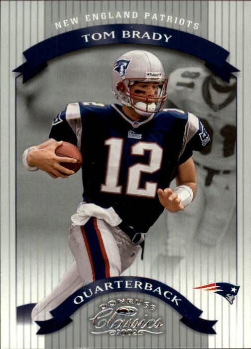 2002 Donruss Classics #75 Tom Brady