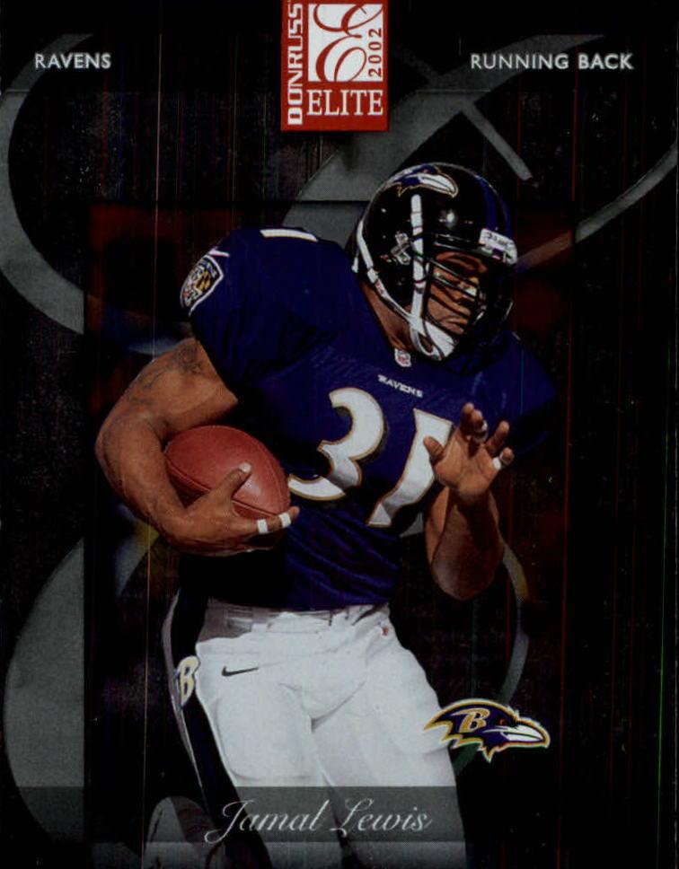 2002 Donruss Elite #2 Jamal Lewis