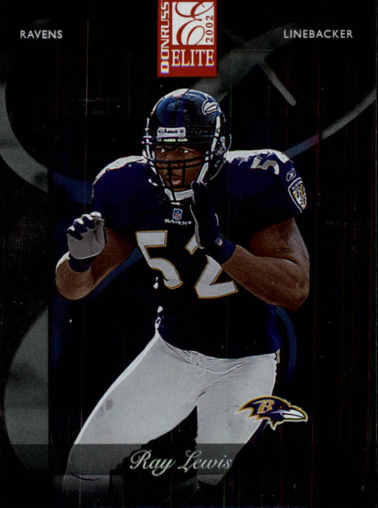 2002 Donruss Elite #3 Ray Lewis