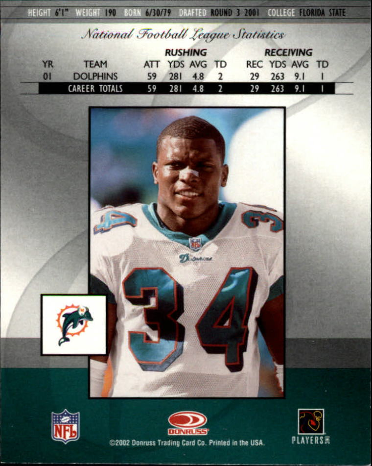 2002 Donruss Elite #28 Travis Minor back image