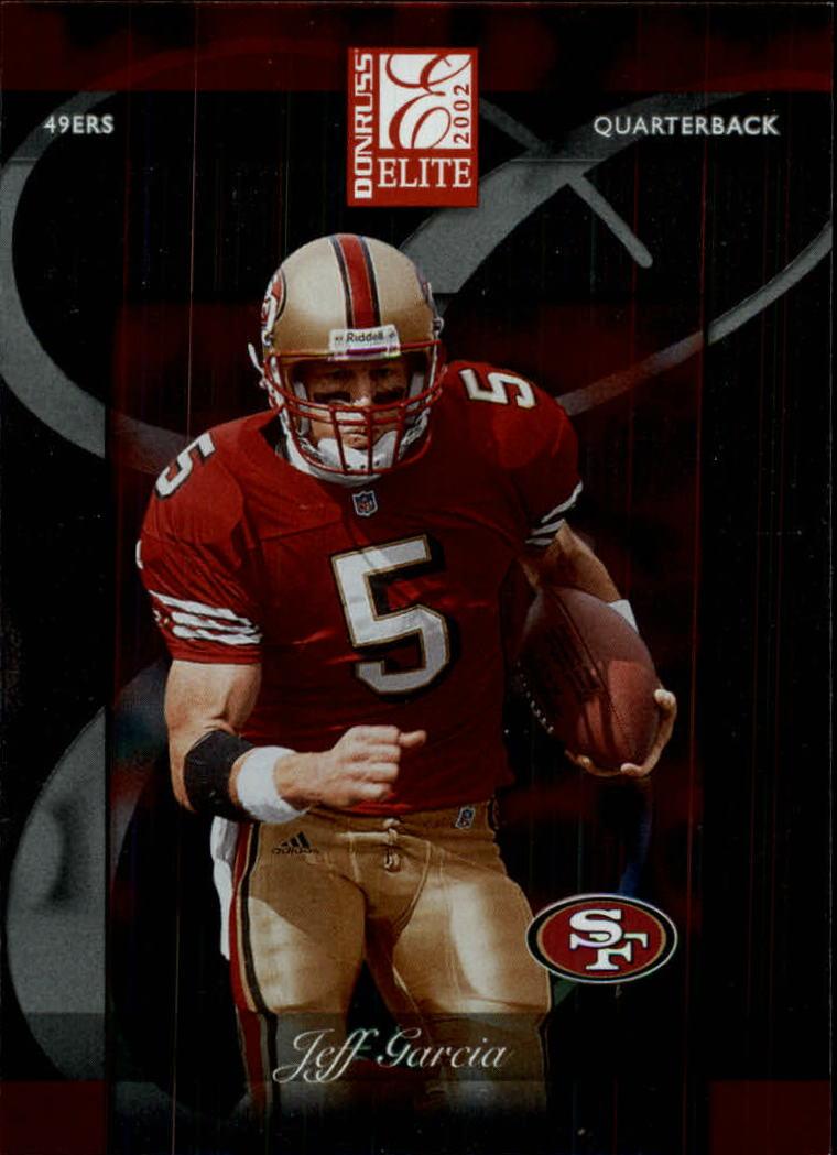 2002 Donruss Elite #88 Jeff Garcia
