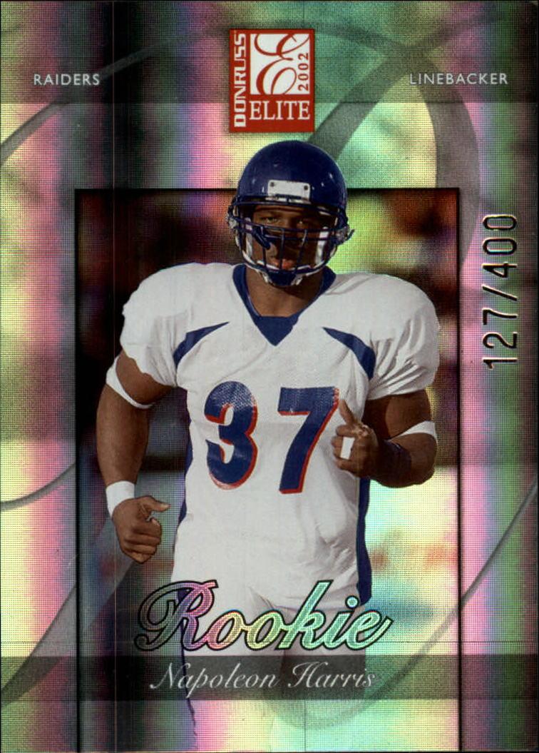 2002 Donruss Elite #188 Napoleon Harris RC