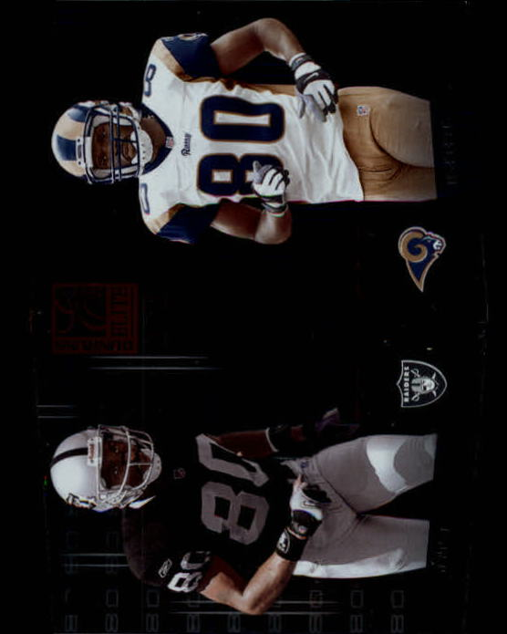 2002 Donruss Elite Prime Numbers #PN10 Jerry Rice/Isaac Bruce