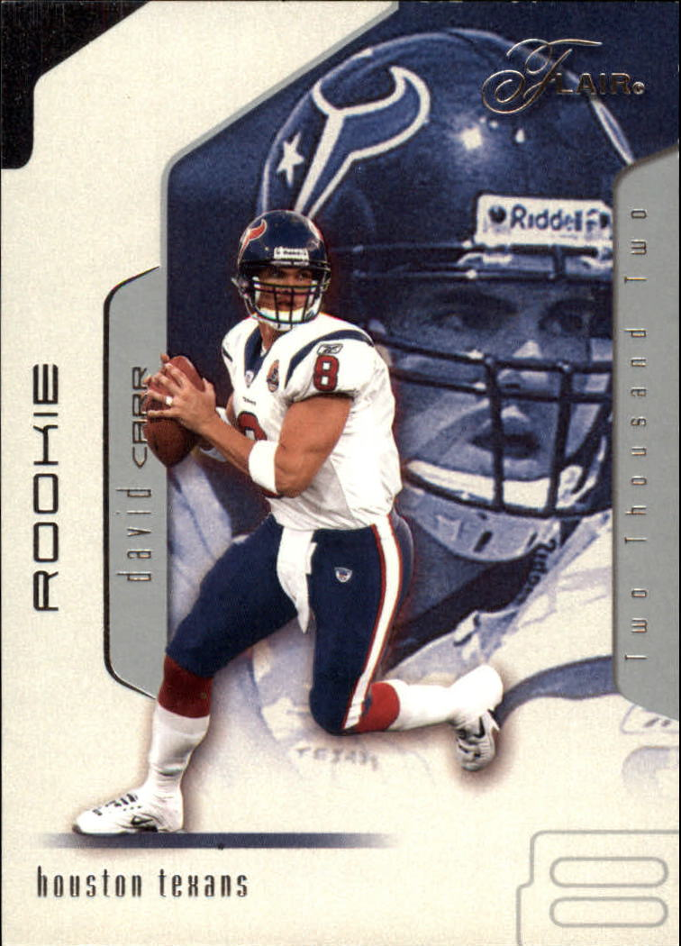 2002 Flair #101 David Carr RC