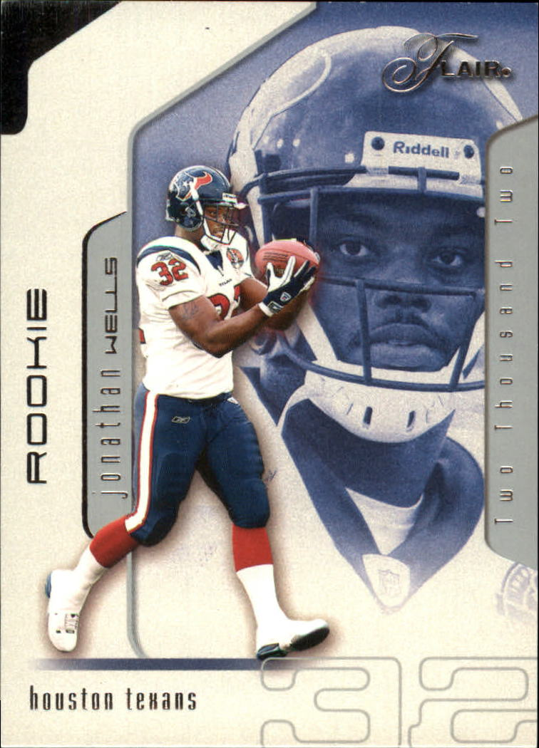 2002 Flair #131 Jonathan Wells RC