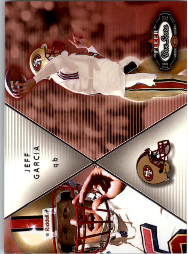 2002 Fleer Box Score #206 Jeff Garcia QBC