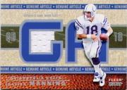 2002 Fleer Genuine Article Tags #GAPM0 Peyton Manning/8