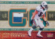2002 Fleer Genuine Article Tags #GAZT0 Zach Thomas/5