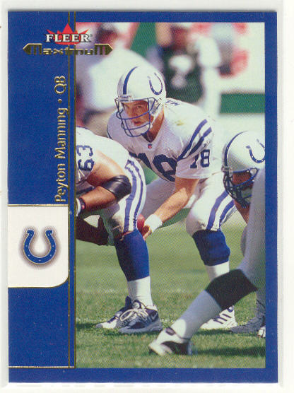 2002 Fleer Maximum #206 Peyton Manning