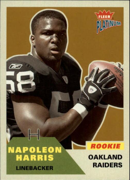 2002 Fleer Platinum #234 Napoleon Harris RC