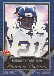 2002 Fleer Platinum Portraits #11 LaDainian Tomlinson