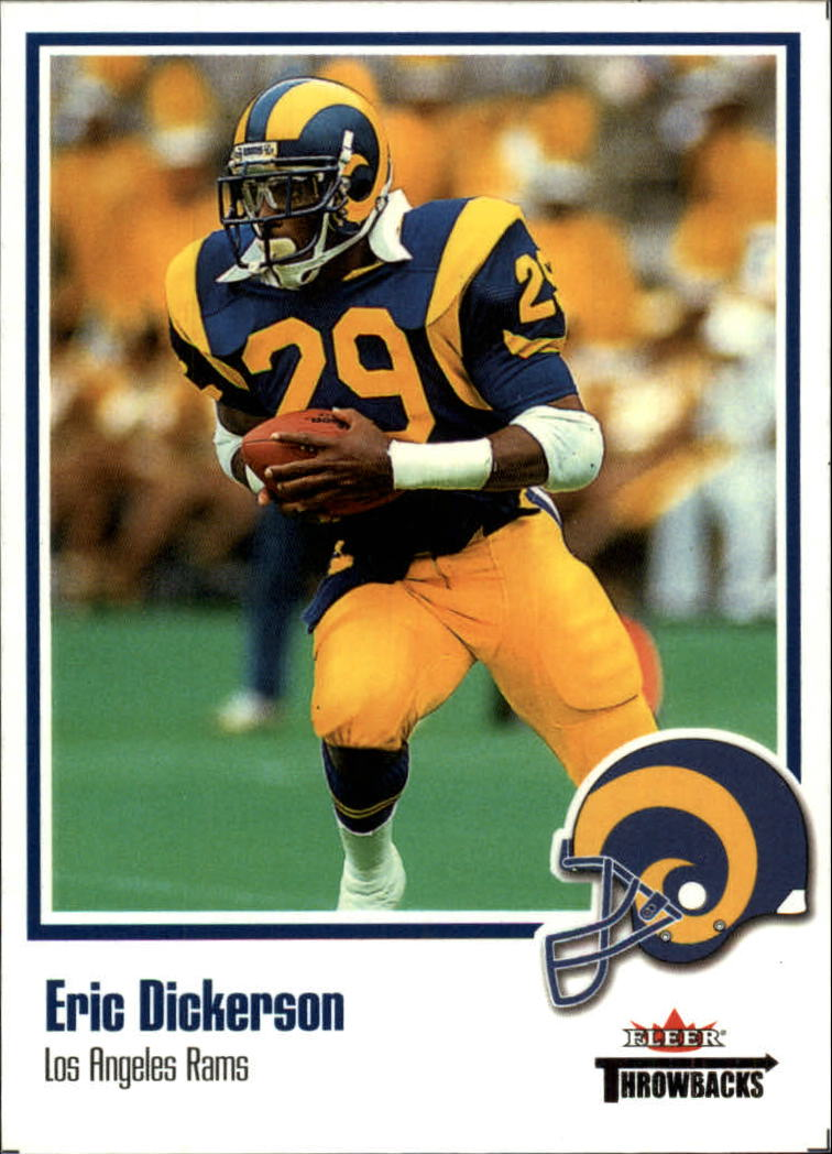 2002 Fleer Throwbacks #16 Eric Dickerson