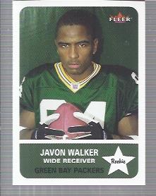 2002 Fleer Tradition #267 Javon Walker RC