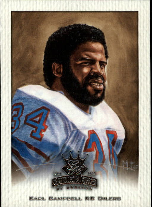 2002 Gridiron Kings #156 Earl Campbell