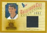 2002 Gridiron Kings Gridiron Cut Collection #GC101 David Carr JSY/400