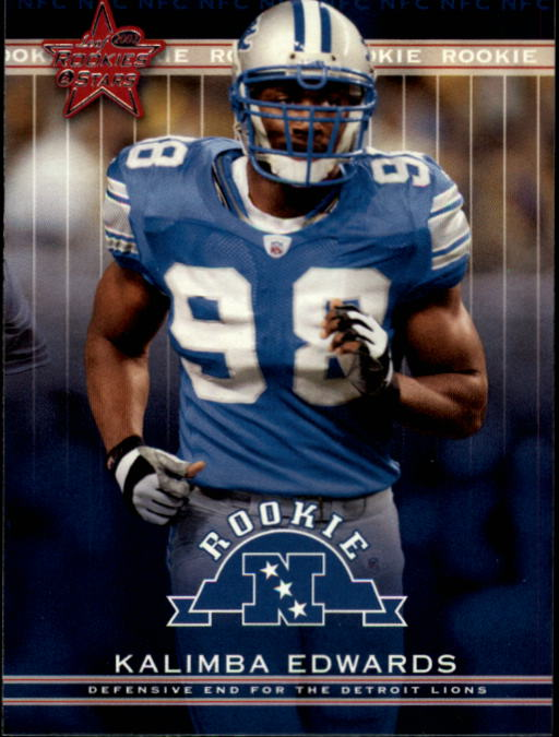 2002 Leaf Rookies and Stars #205 Kalimba Edwards RC