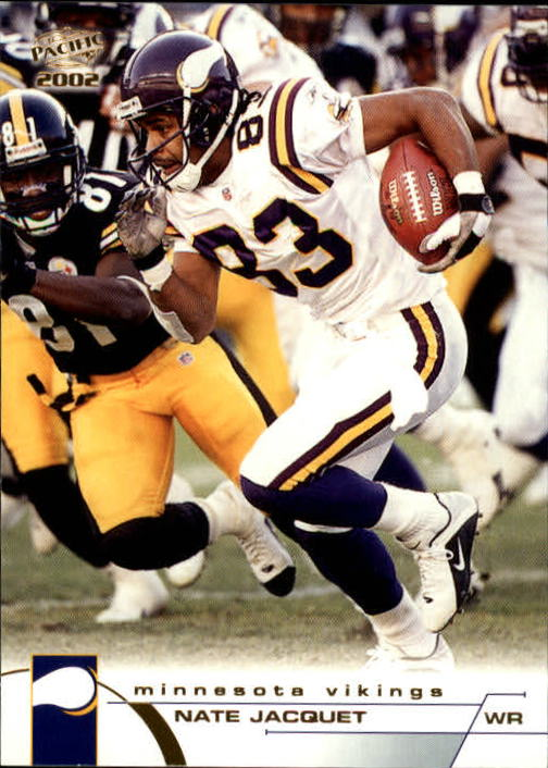 2002 Pacific #251 Nate Jacquet